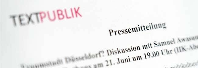 PR-Agentur Pressemitteilungen